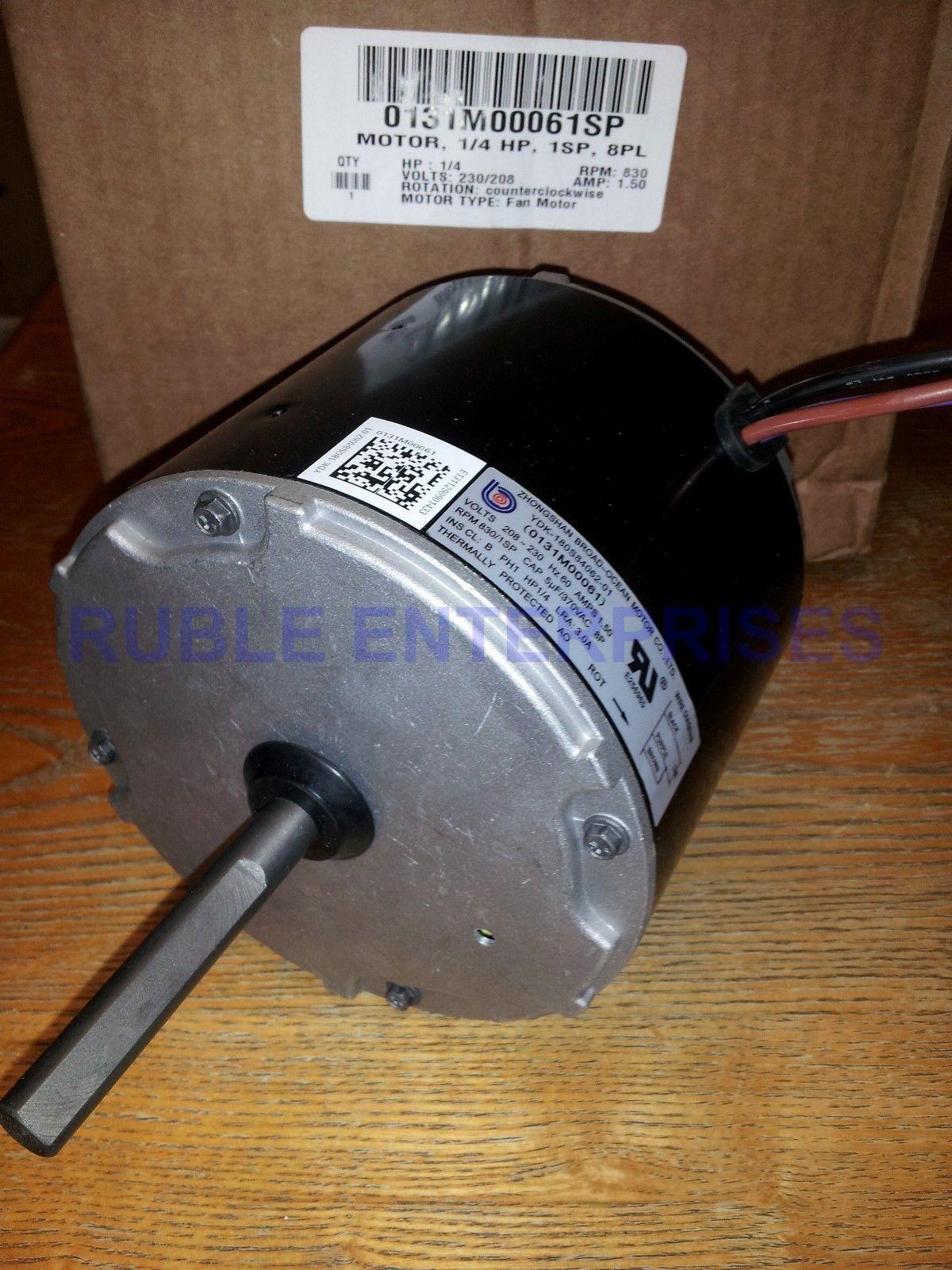 goodman amana condenser fan motor 0131m00061sp oem warrantygoodman amana condenser fan motor 0131m00061sp oem warranty